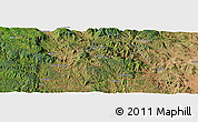 Satellite Panoramic Map of Afaflai