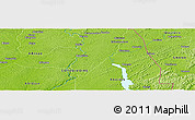 Physical Panoramic Map of Akréby