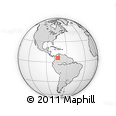 Outline Map of Olival, rectangular outline