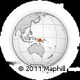 Outline Map of Yogo, rectangular outline