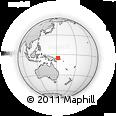 Outline Map of Ili, rectangular outline