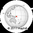Outline Map of Iltopan, rectangular outline