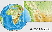 Physical Location Map of Zikalaba