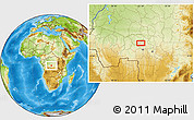 Physical Location Map of Kalamba