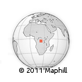 Outline Map of Mashala, rectangular outline