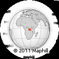 Outline Map of Kabondo, Boma, rectangular outline