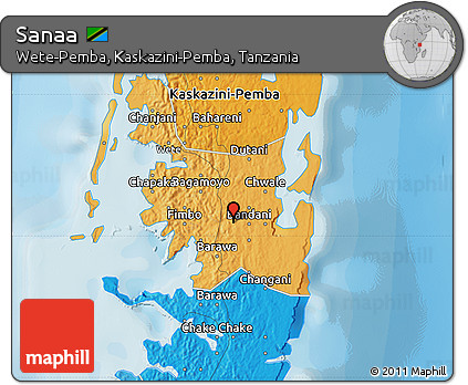 Free Political Map Of Sanaa - Sanaa map