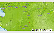 """Physical 3D Map of the area around 5°4'25""""S,80°40'30""""W"""