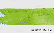 """Physical Panoramic Map of the area around 5°4'25""""S,80°40'30""""W"""