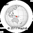 Outline Map of Deikwi, rectangular outline