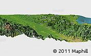 Satellite Panoramic Map of Aiambi