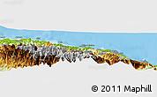 Physical Panoramic Map of Mamguk