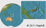 Satellite Location Map of Babata