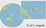 Savanna Style Location Map of Babata
