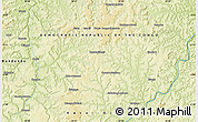 Physical Map of Bakwa-Funyi