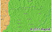 Political Map of Bakwa-Funyi