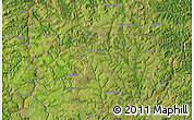 Satellite Map of Bakwa-Funyi