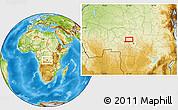 Physical Location Map of Mpoyi