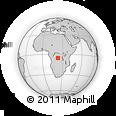 Outline Map of Kasisa, rectangular outline