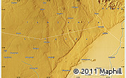 """Physical Map of the area around 5°35'51""""S,34°55'29""""E"""