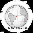 Outline Map of 000021 - Costeira, 1283, rectangular outline