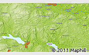 """Physical 3D Map of the area around 60°16'48""""N,15°22'30""""E"""
