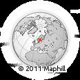 Outline Map of Kanikbo, rectangular outline