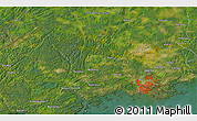 """Satellite 3D Map of the area around 60°16'48""""N,24°43'30""""E"""