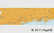 """Political Panoramic Map of the area around 60°16'48""""N,24°43'30""""E"""
