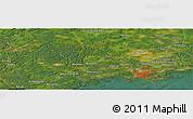 "Satellite Panoramic Map of the area around 60°16'48""N,24°43'30""E"