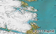 """Satellite Map of the area around 60°16'48""""N,43°16'29""""W"""