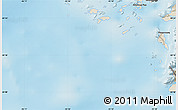 """Shaded Relief Map of the area around 60°16'48""""N,45°49'30""""W"""