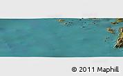 Satellite Panoramic Map of Pingorsuaq