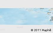 Shaded Relief Panoramic Map of Pingorsuaq