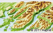 Physical 3D Map of Qunnermiut