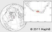 Blank Location Map of Akuliaruseq