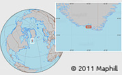 Gray Location Map of Akuliaruseq