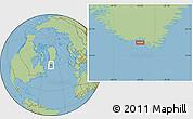 Savanna Style Location Map of Akuliaruseq