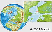 Physical Location Map of Rauma