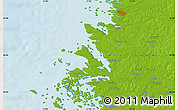 Physical Map of Rauma