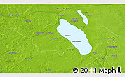 """Physical 3D Map of the area around 60°58'34""""N,22°10'29""""E"""