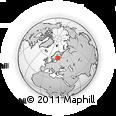 Outline Map of Lahti, rectangular outline