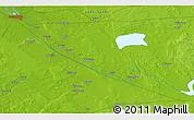 Physical 3D Map of Punapakka