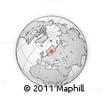 Outline Map of Punapakka, rectangular outline