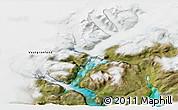 Satellite 3D Map of Narsarsuaq
