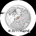 Outline Map of Noormarkku, rectangular outline