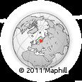 Outline Map of Mikkeli, rectangular outline