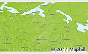 """Physical 3D Map of the area around 62°40'59""""N,30°40'29""""E"""