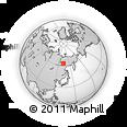Outline Map of Bulun, rectangular outline