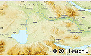 """Physical Map of the area around 63°21'9""""N,12°49'29""""E"""